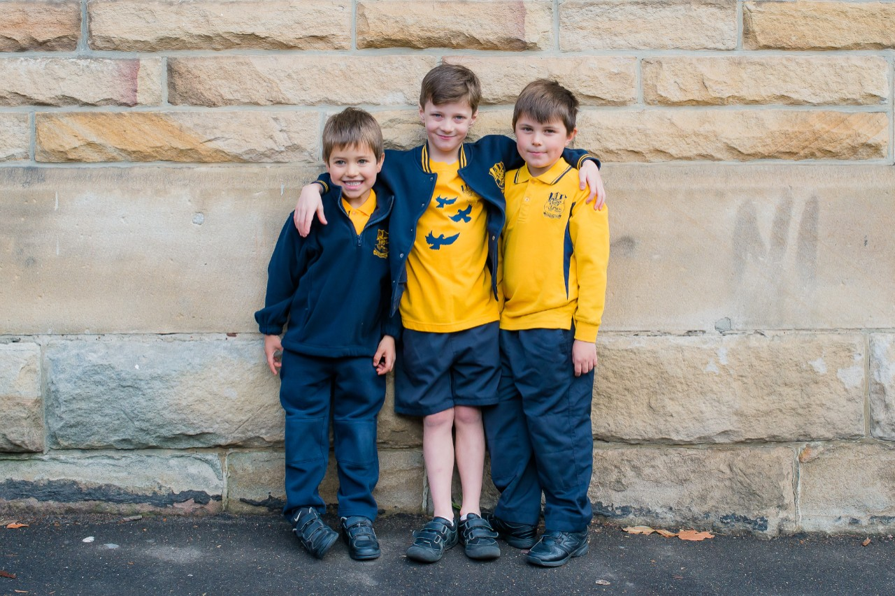 Boys' uniform examples
