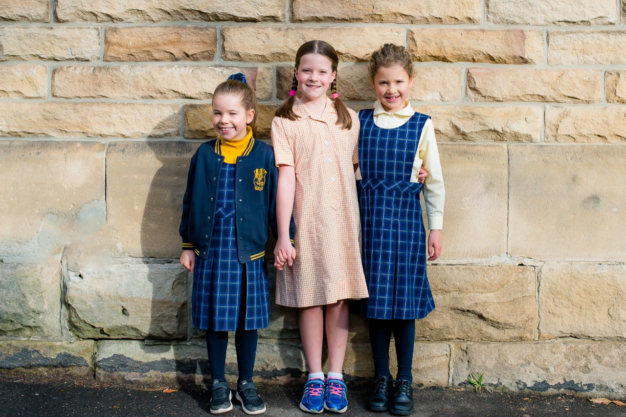 Girls' uniform examples